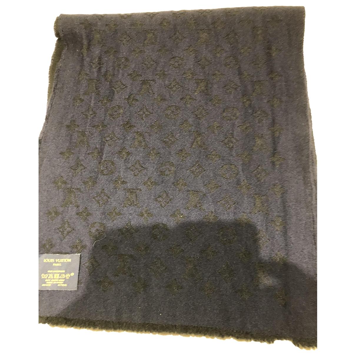 Louis Vuitton \N Navy Cashmere scarf & pocket squares for Men \N