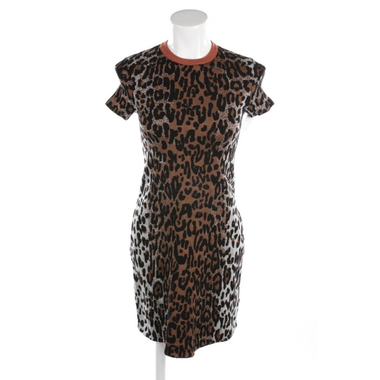 Stella Mccartney \N Brown Wool dress for Women 32 FR