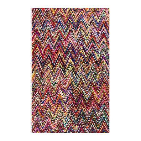 nuLoom Hand Braided Oconnor Rug, One Size , Multiple Colors