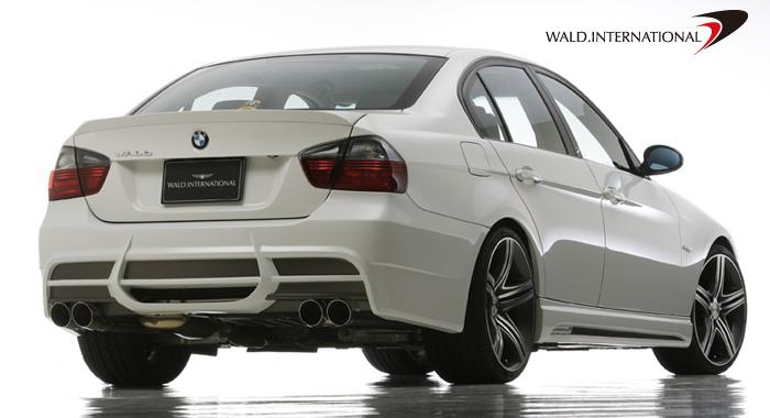 Wald International E90.RB.06 Rear Bumper BMW 3-Series E90 06-10