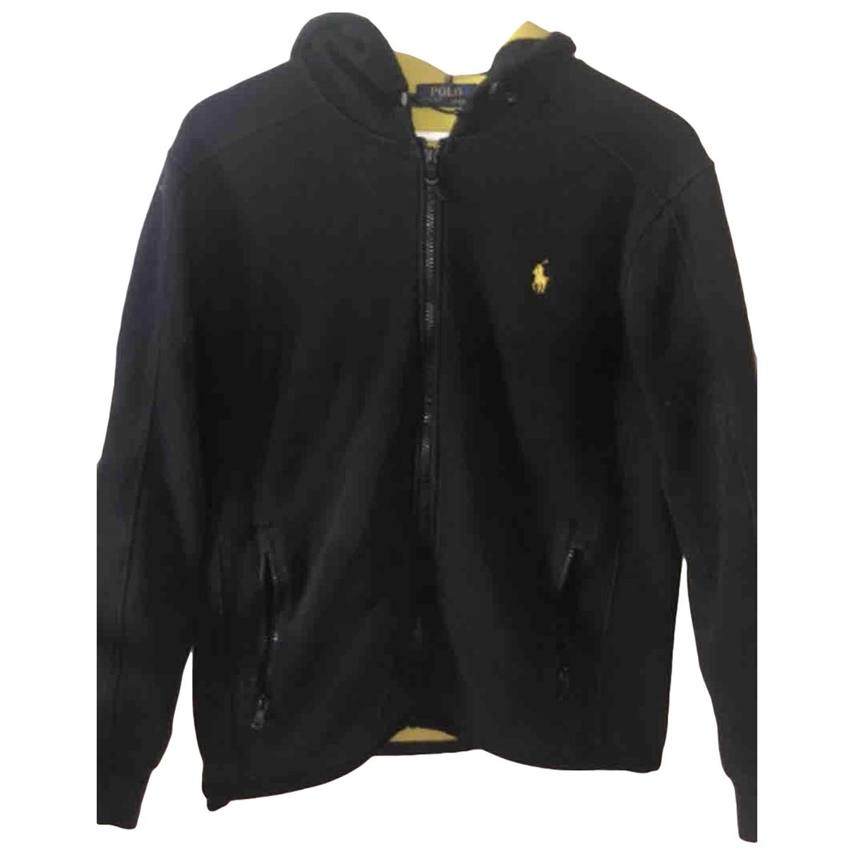 Polo Ralph Lauren - Pulls.Gilets.Sweats   pour homme en coton - noir
