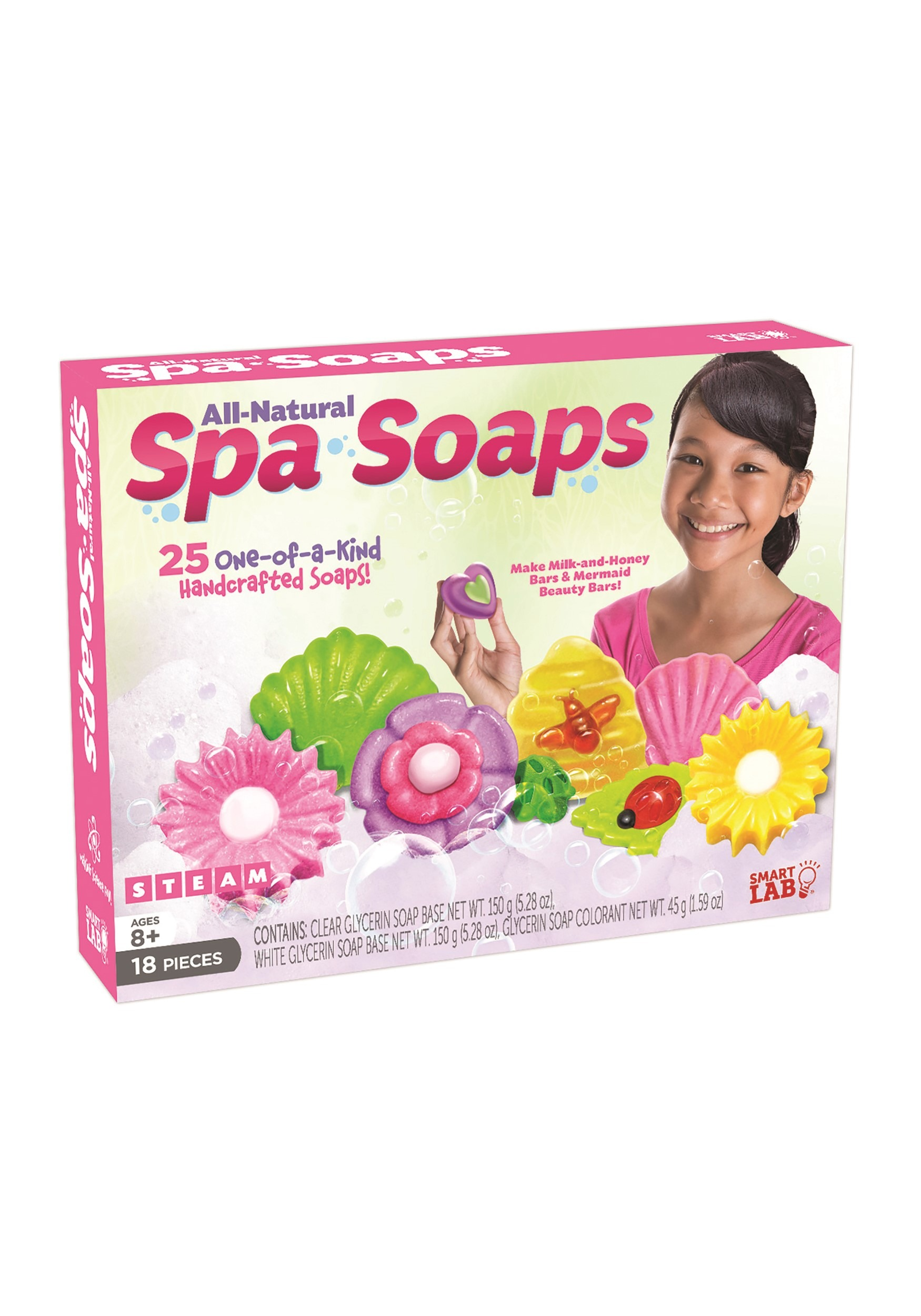 All Natural Spa Soaps SmartLab Toys