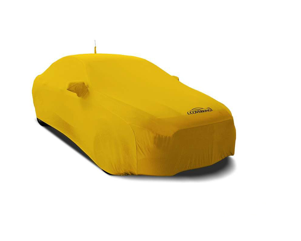 Coverking CVC2SS99TT9895 CVC2SS99 Satin Stretch Velocity Yellow Custom Car Cover Toyota Corolla iM 17-19
