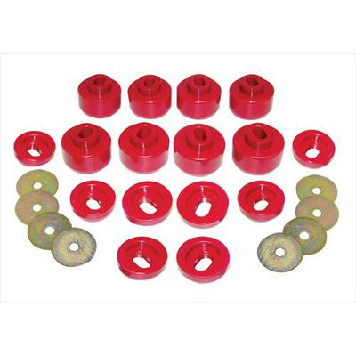 Prothane Motion Control Body Mount Kit (Red) - 7-143