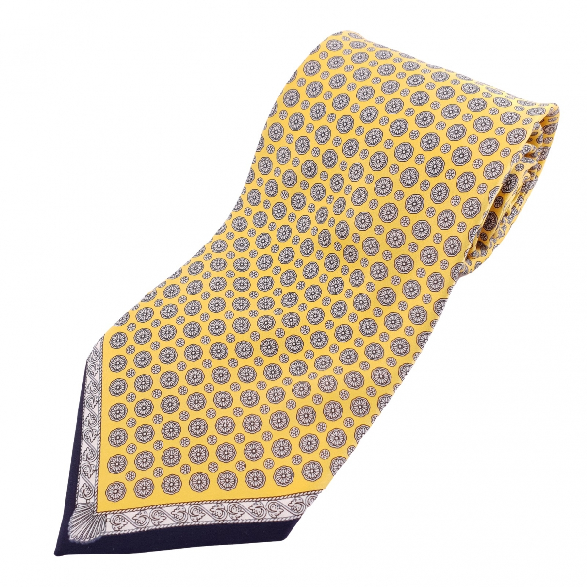 Gianfranco Ferre - Cravates   pour homme en soie - dore