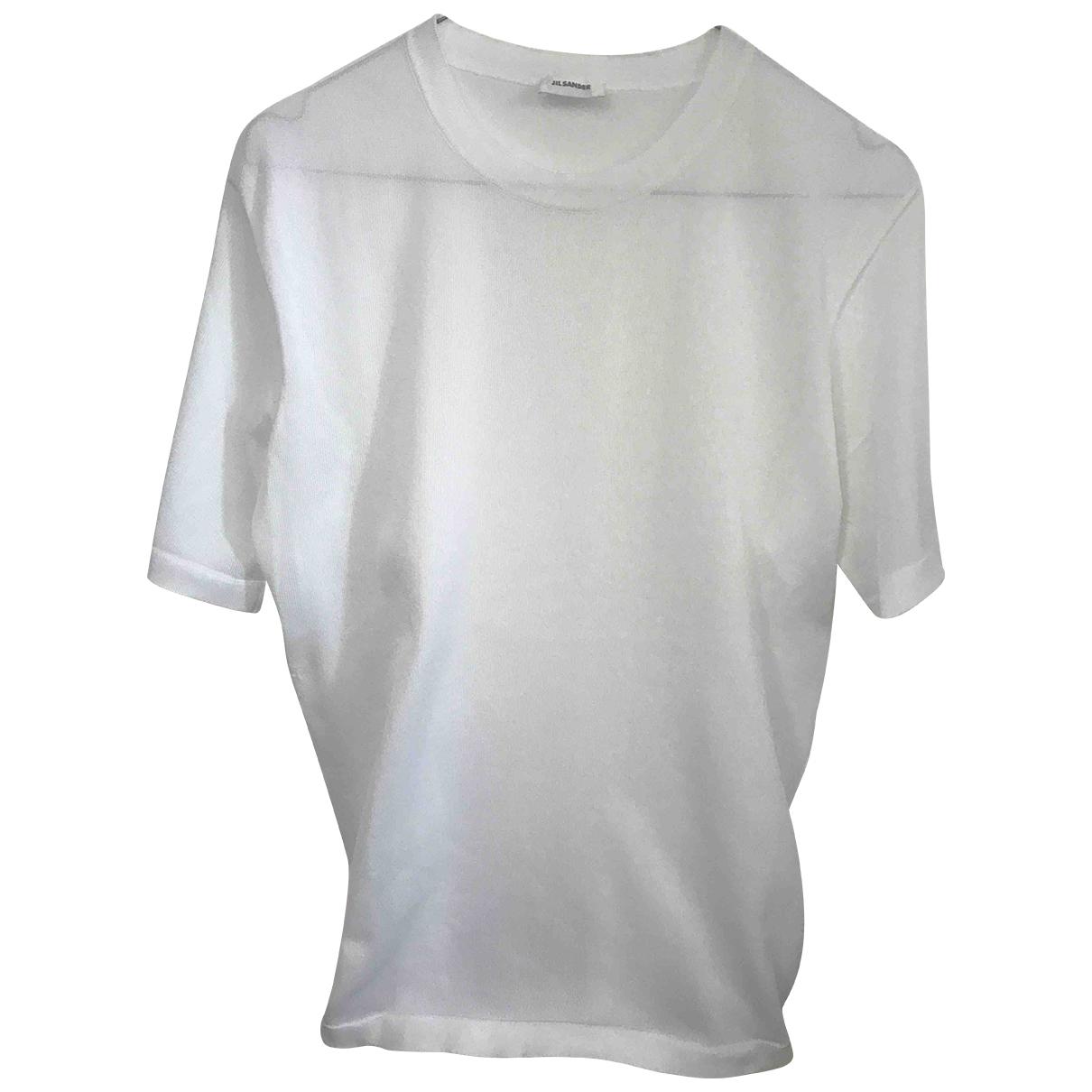 Jil Sander - Tee shirts   pour homme - blanc