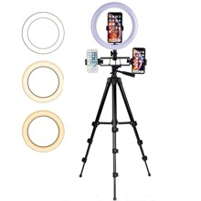 Phone Tripod With Fill Light
