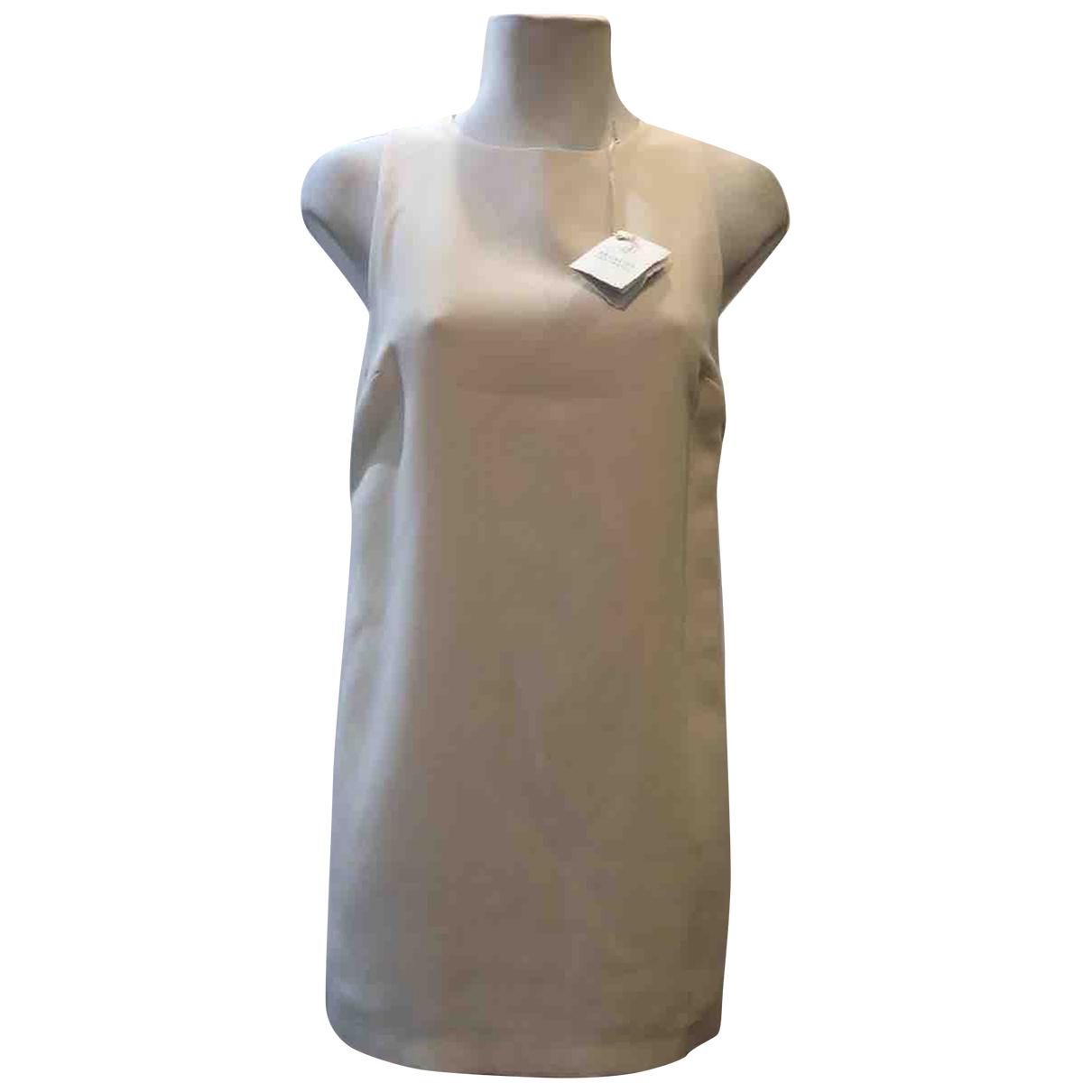 Brunello Cucinelli - Robe   pour femme en a paillettes - beige