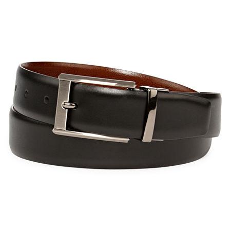 Stafford Reversible Belt, 34 , Black