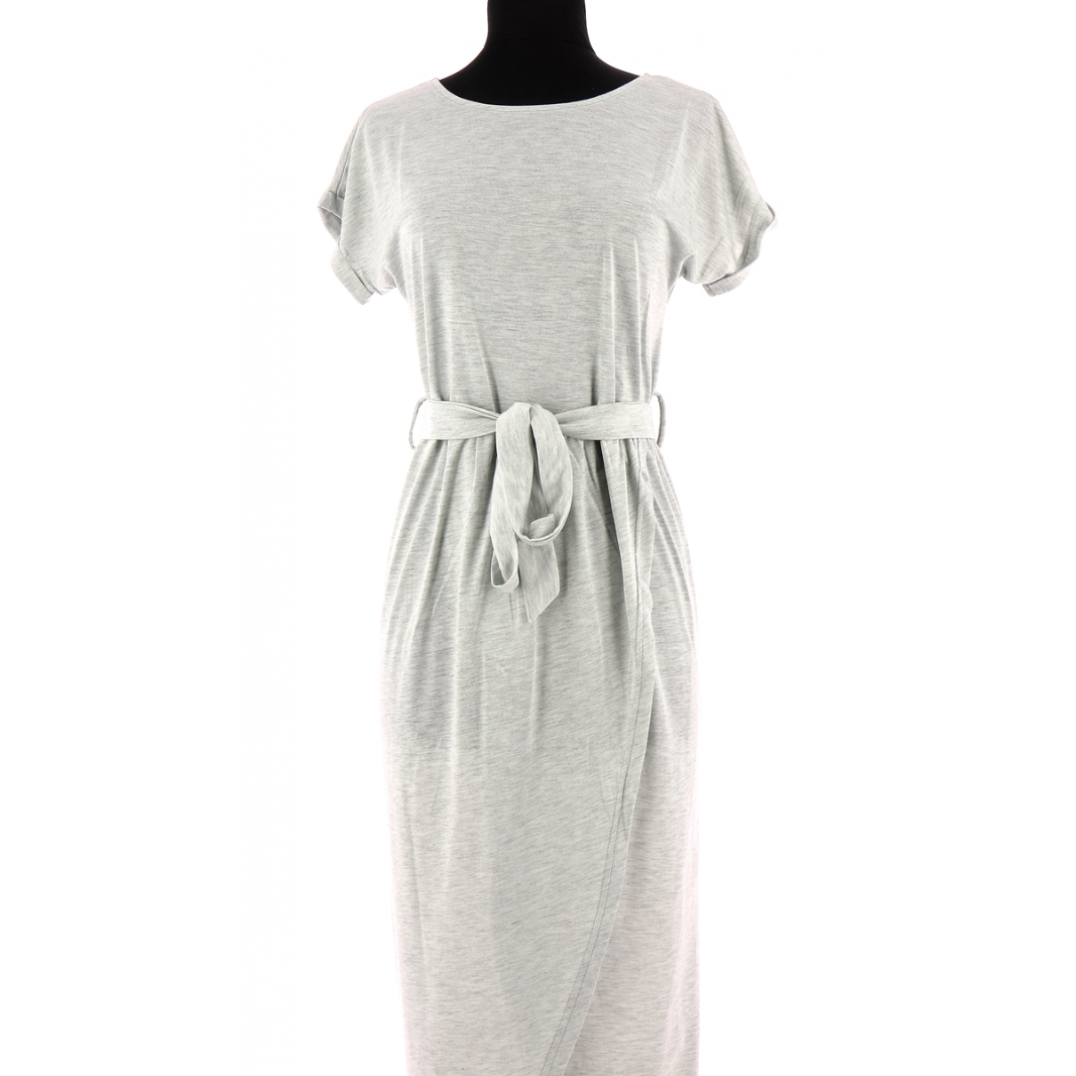 Non Signé / Unsigned \N Grey dress for Women 36 FR