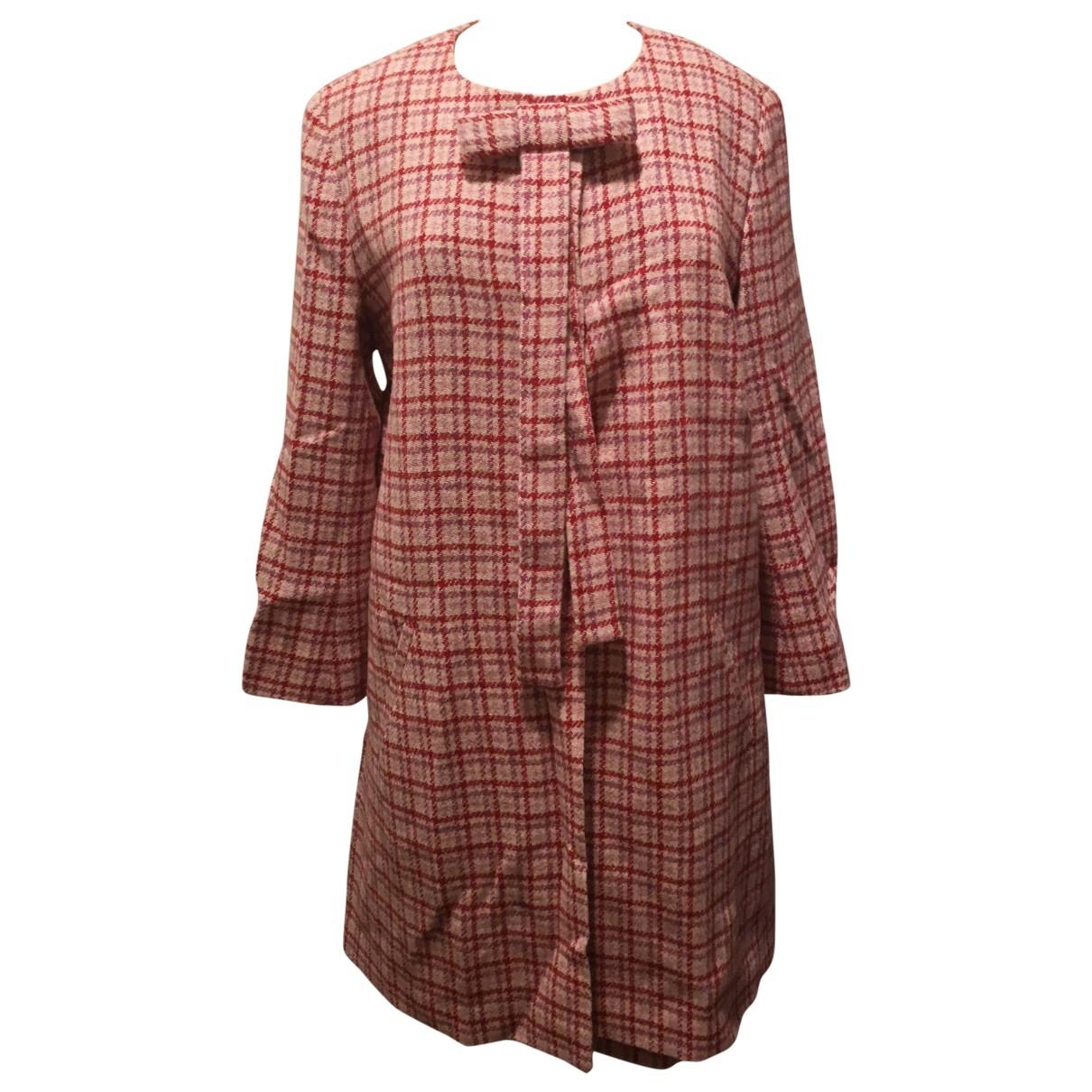 Agnes B. - Veste   pour femme en laine - rose