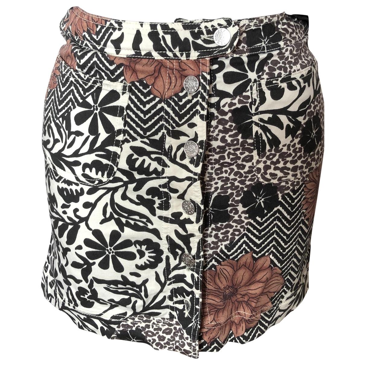 Kenzo \N Cotton - elasthane skirt for Women 36 FR