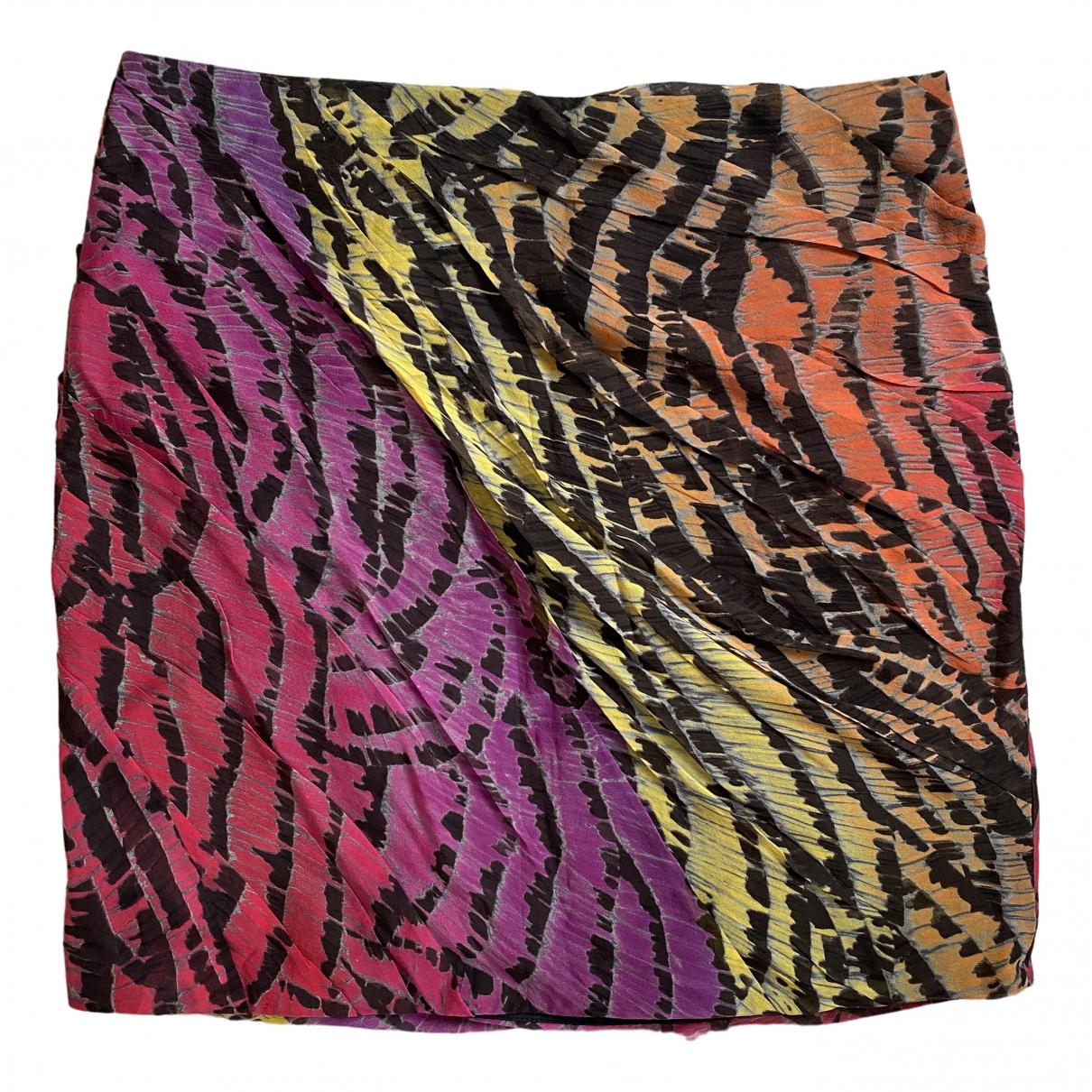 Diane Von Furstenberg - Jupe   pour femme en soie - multicolore