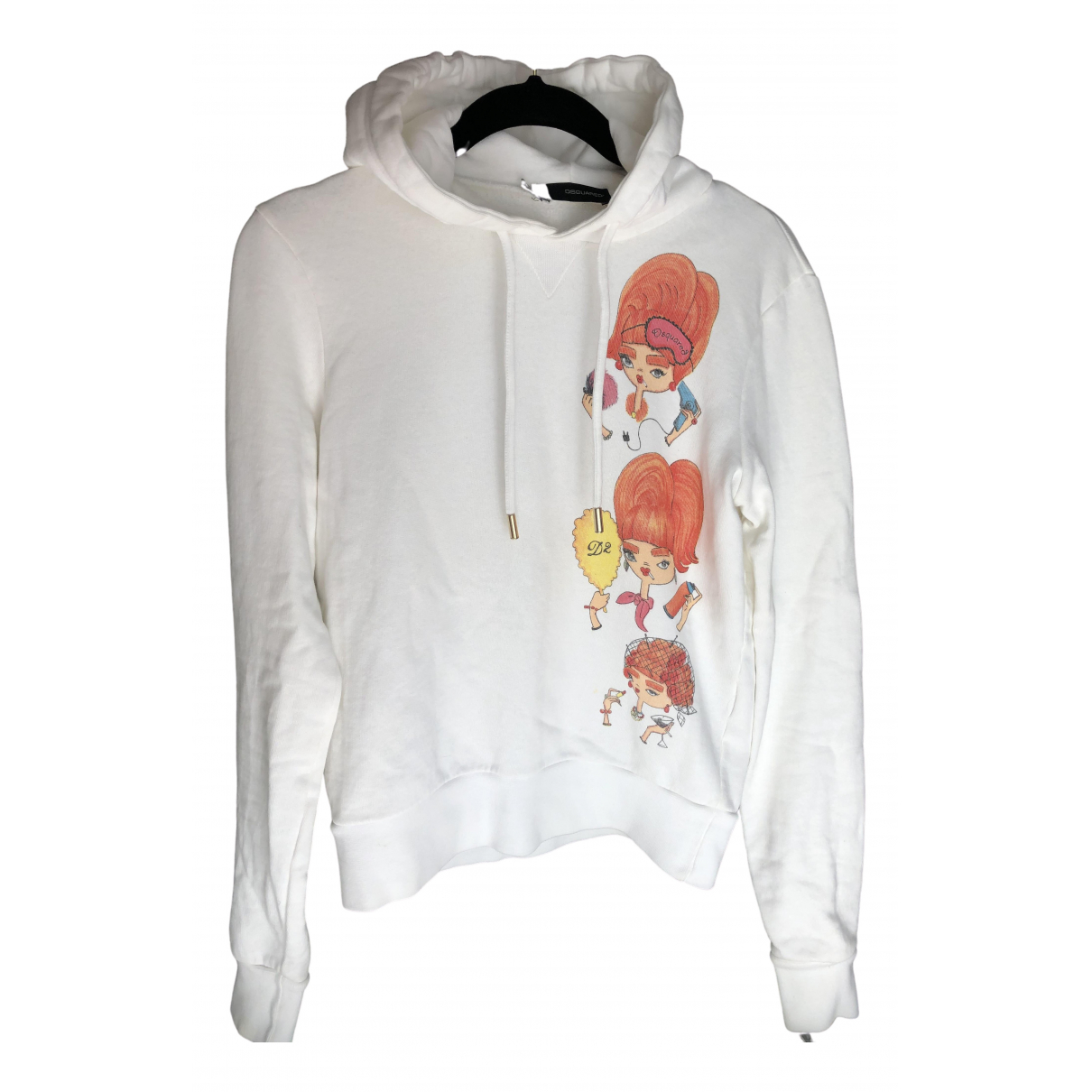 Dsquared2 \N White Cotton Knitwear for Women S International