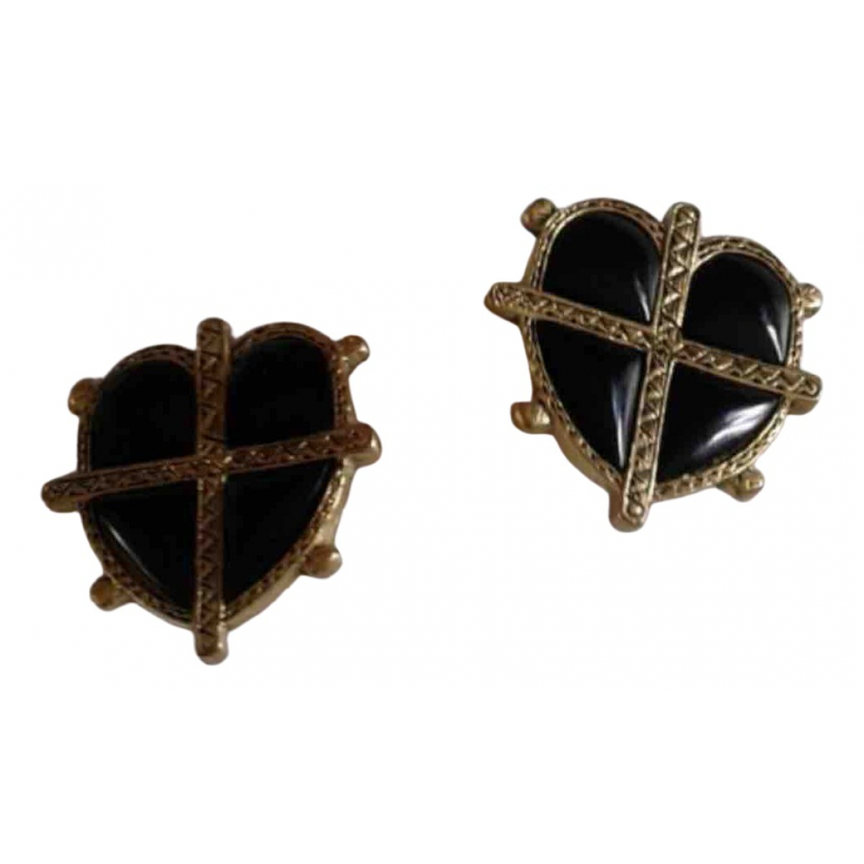 Reminiscence \N Gold Metal Earrings for Women \N