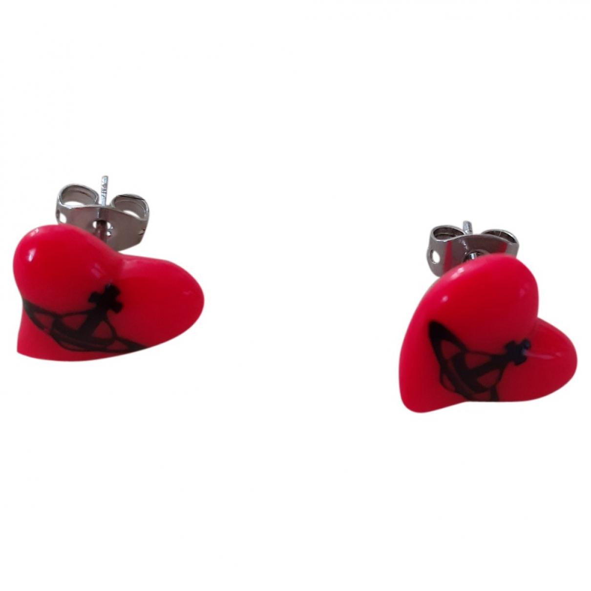 Vivienne Westwood - Boucles doreilles   pour femme - rouge