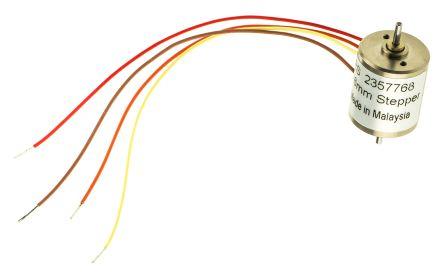 Portescap Bipolar Disc Magnet Stepper Motor 15°, 7mNm, 12 V dc, 120 mA