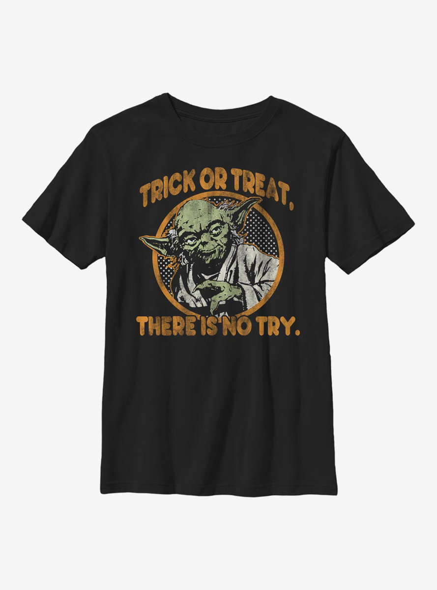 Star Wars Treat Or Trick Youth T-Shirt