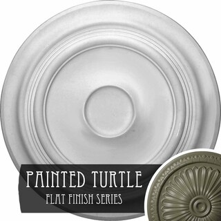 24 3/8OD x 1 1/2P Traditional Ceiling Medallion (Turtle)
