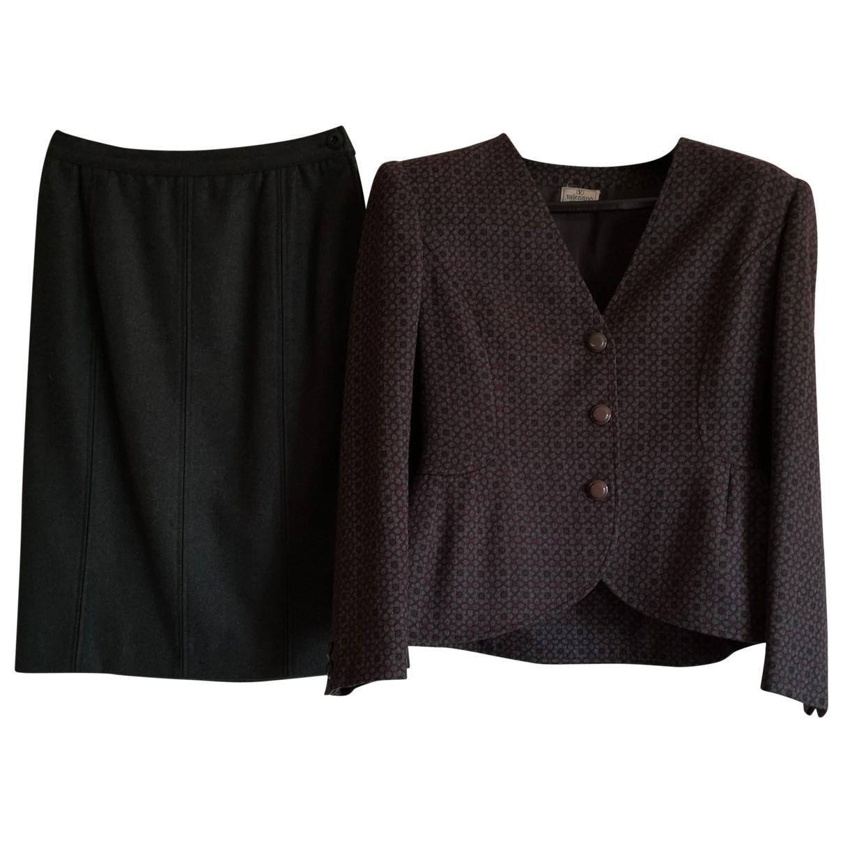 Valentino Garavani \N Kleid in  Gruen Wolle