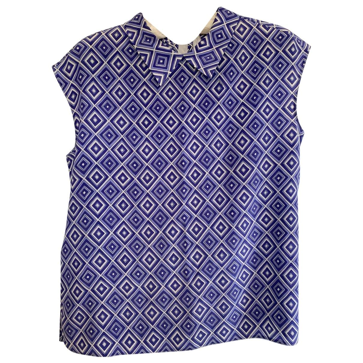Prada - Top   pour femme en soie - violet