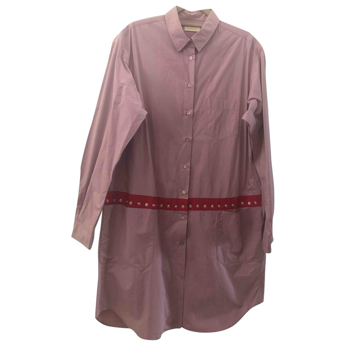 Wunderkind - Robe   pour femme en coton - rose