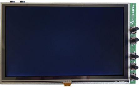 Grinn GEB.LCD.01.01, Chiliboard LCD Sandwich 5in Resistive Touch Screen Sandwich for chiliBoard, liteBoard