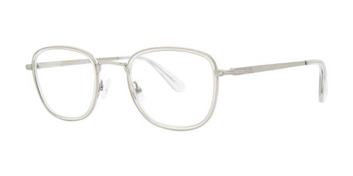 Zac Posen RUDOLPH Gunmetal Mens Glasses Grey Size 49 - Free Lenses - HSA/FSA Insurance - Blue Light Block Available