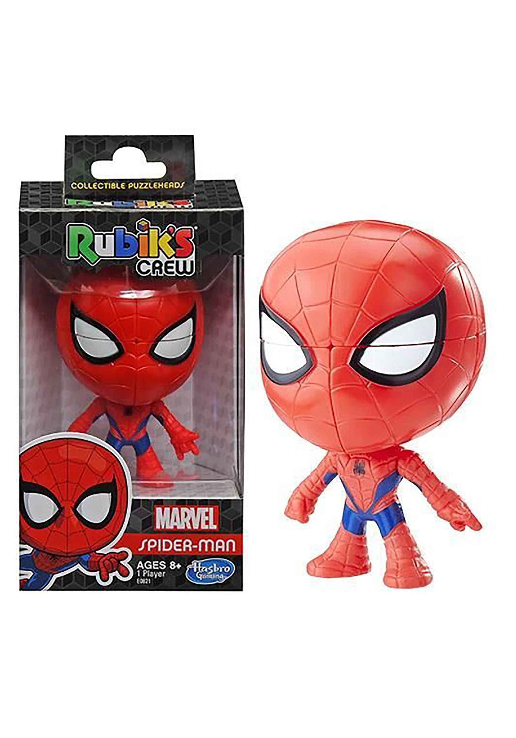 Rubiks Crew Game: Spider-Man Marvel Edition