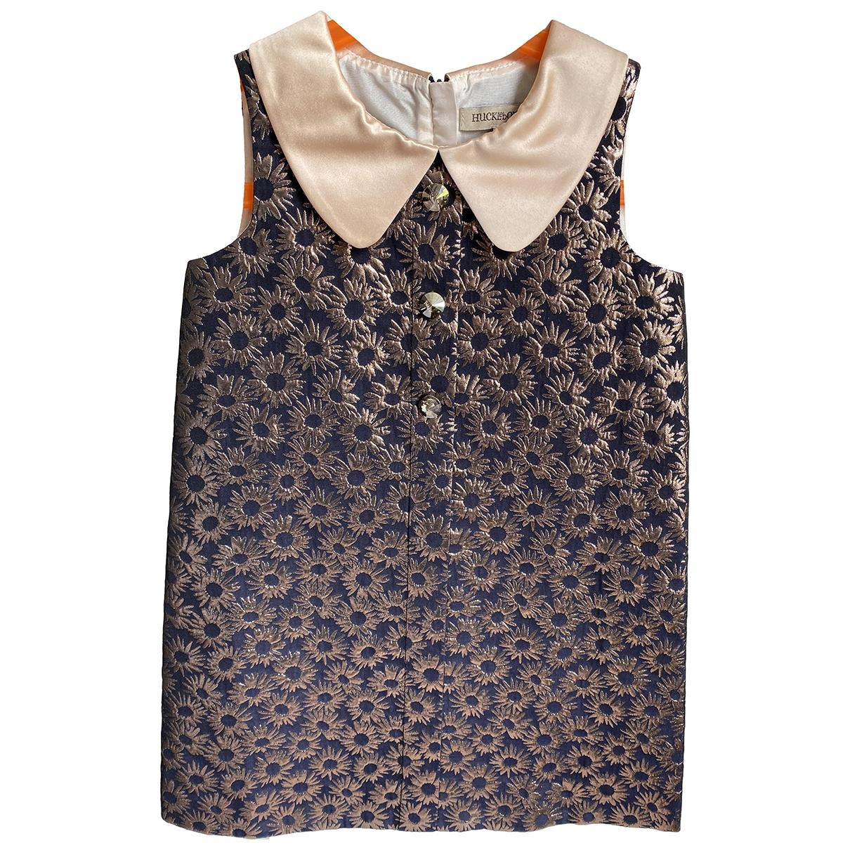 Hucklebones \N Kleid in  Marine Polyester