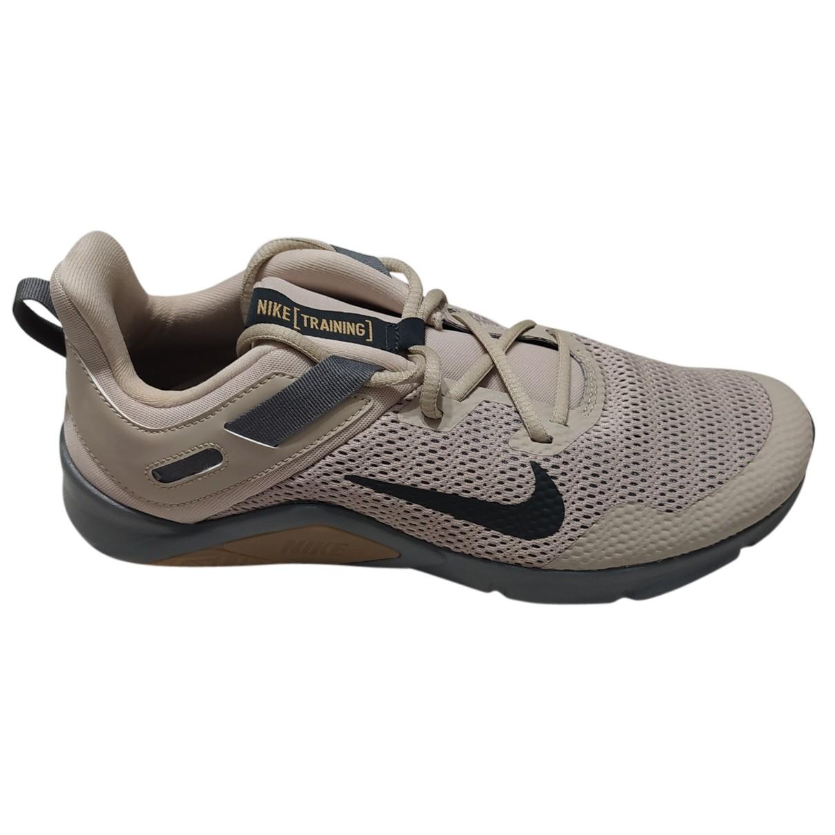 Nike \N Sneakers in  Beige Leinen