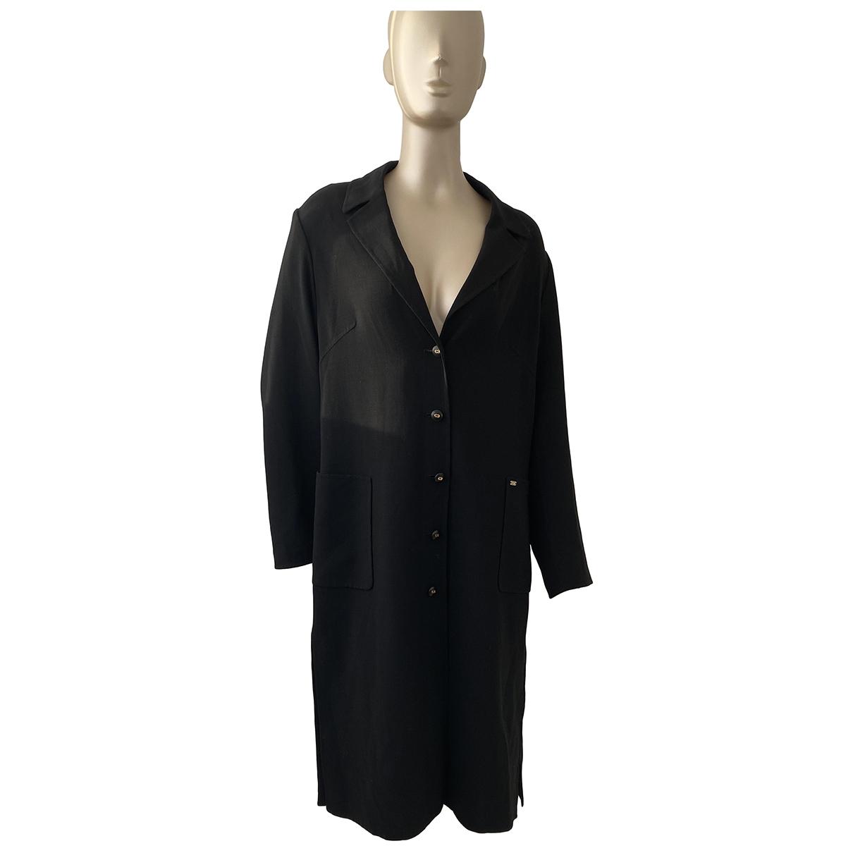 Escada - Robe   pour femme en laine - noir