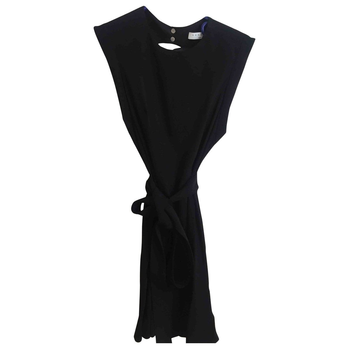 Sandro \N Black dress for Women 38 FR