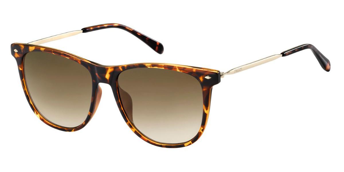 Fossil FOS 3090/G/S 086/HA Women's Sunglasses Tortoise Size 54
