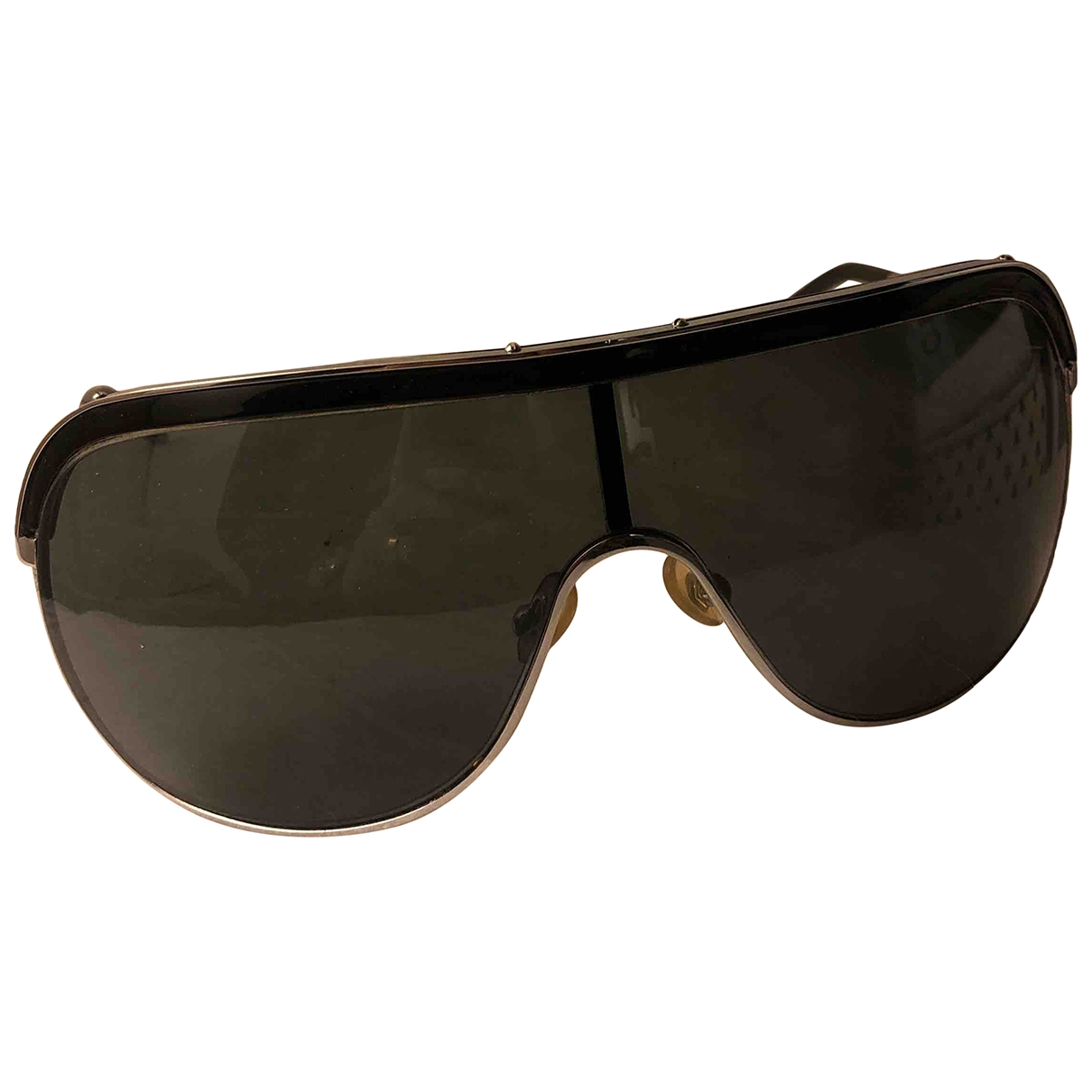 Max Mara \N Black Metal Sunglasses for Women \N