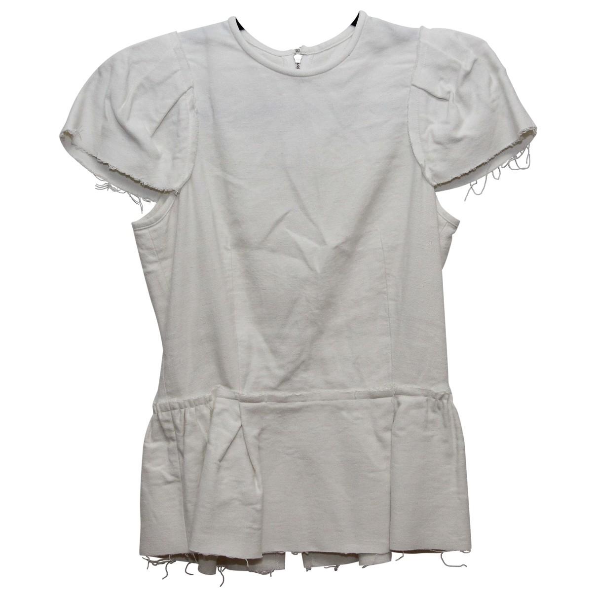 Isabel Marant \N White Linen  top for Women 38 FR