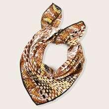 Bandana mit Schlangenleder Muster