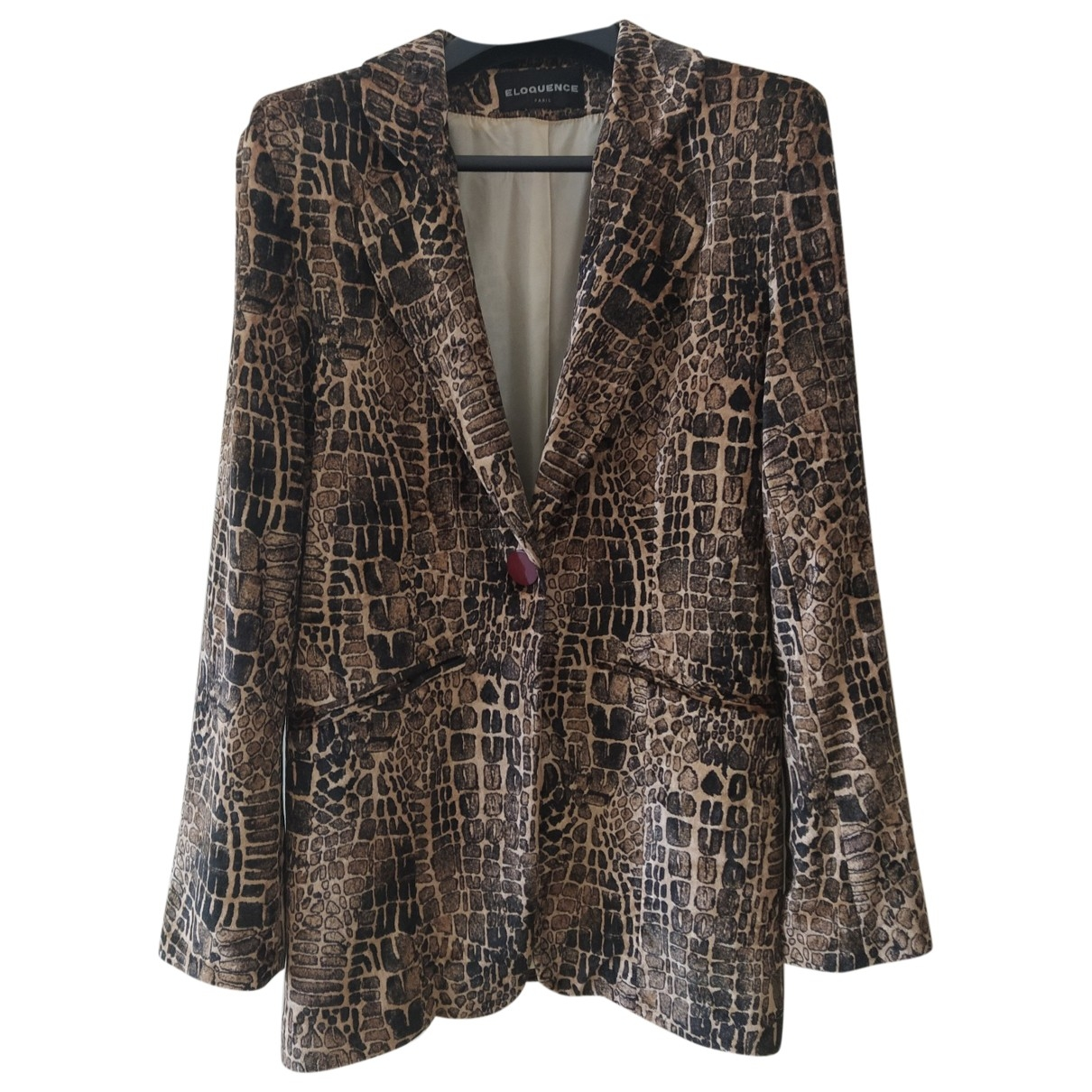 Non Signé / Unsigned \N Multicolour Suede jacket for Women 42 FR