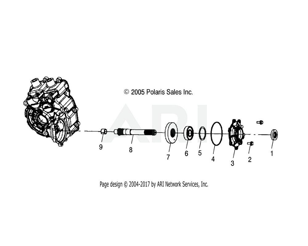 Polaris OEM 1341502 Asm., Gearcase | [Incl. All]