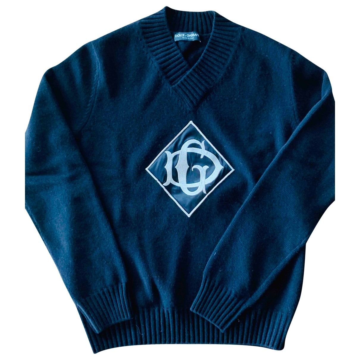 Dolce & Gabbana \N Pullover.Westen.Sweatshirts  in  Schwarz Wolle