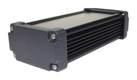 Takachi Electric Industrial AWN Black Aluminium Heat Sink Case, 175 x 80.8 x 45.8mm