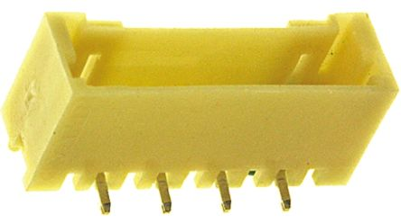 TE Connectivity , AMP Mini CT, 4 Way, 1 Row, Vertical PCB Header (5)