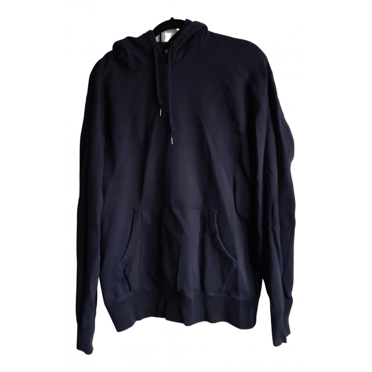 Uniqlo N Navy Cotton Knitwear & Sweatshirts for Men L International