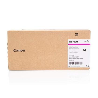 Canon PFI-706M Original Magenta Ink Cartridge High Yield