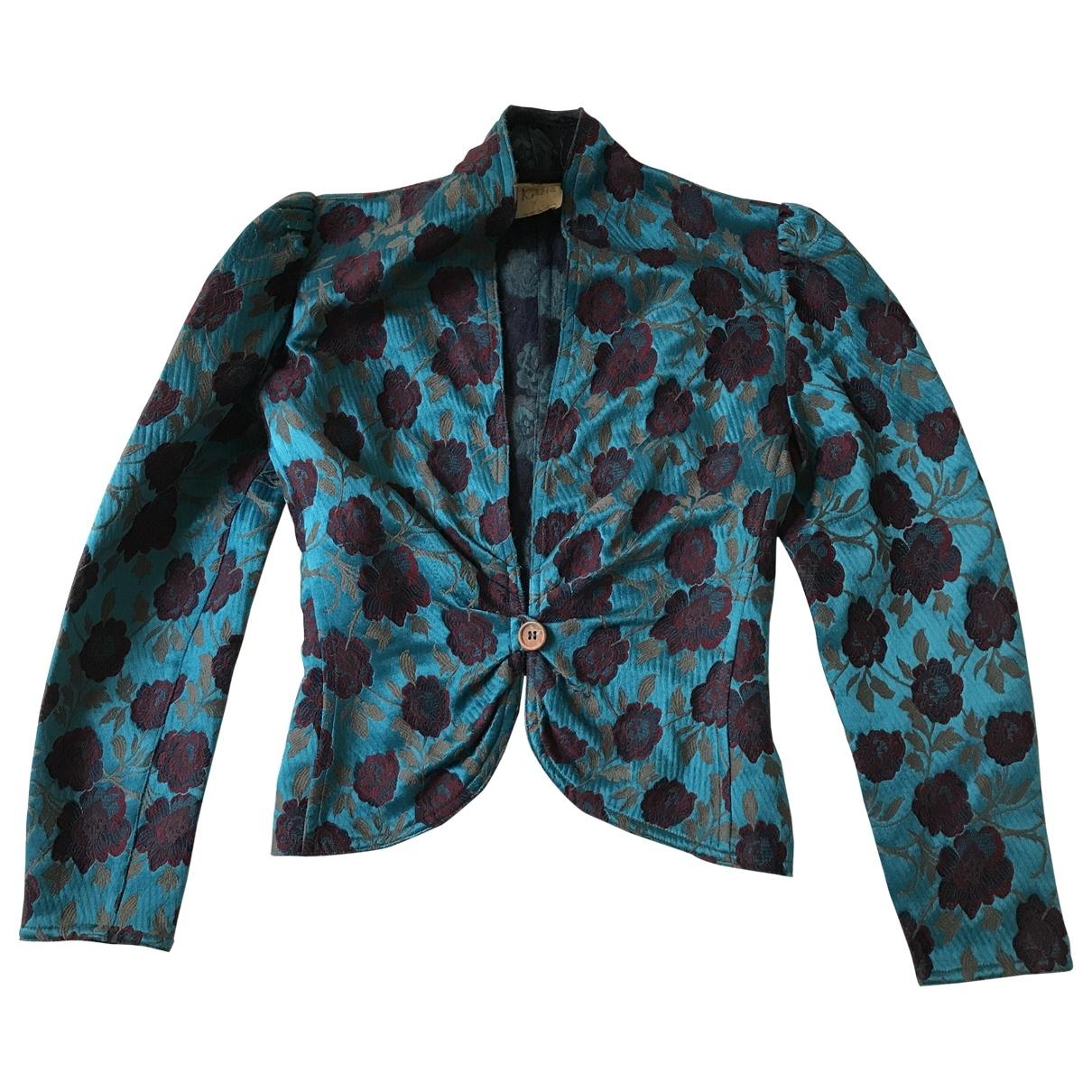 Krizia \N Multicolour Silk jacket for Women 42 IT