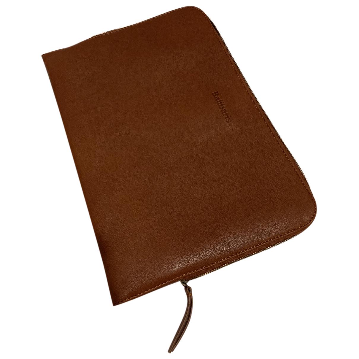 Balibaris - Petite maroquinerie   pour homme en cuir - marron