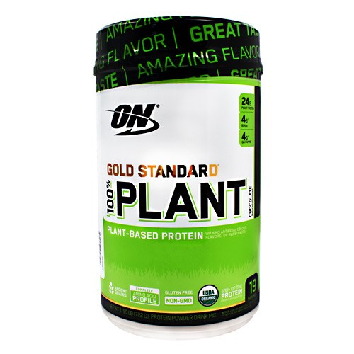 Gold Standard 100% Plant Based Vanilla 1.59 lbs by Optimum Nutrition