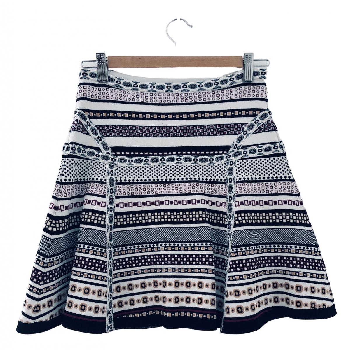 Diane Von Furstenberg \N White skirt for Women XS International