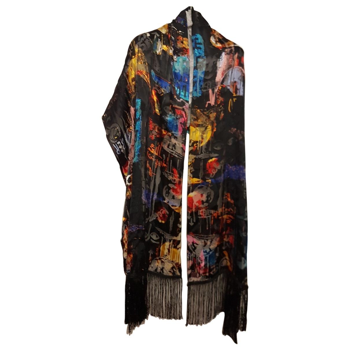 Iceberg \N Black Silk scarf for Women \N