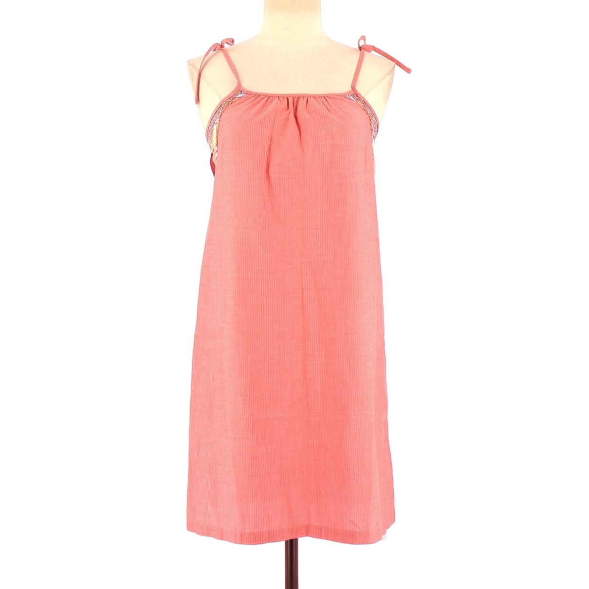 Sessun \N Kleid in  Rosa Baumwolle